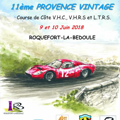 Course de côte Provence Vintage