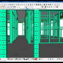 Современный проект каркасного дома должен быть выполнен в среде BIM