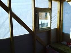 Строительства каркасной бани.Липовый остров._#sauna72#www.sauna72