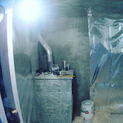 Сауна под ключ.Вагонка липа,полок комбинированный абаши, печь талькохлорид.Оз. Андреевское #sauna72#