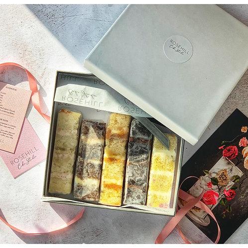 Wedding Cake Sample Box