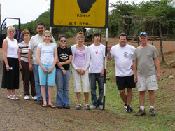 At the Equator in Kenya