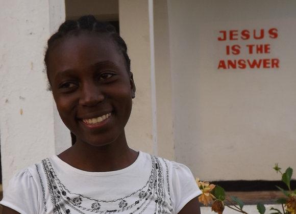 Beverline Murunga - Graduated from Cosmetology School