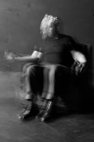 Brett Moellenberg, Macbeth in Macbeth, Photo by Jonnie Pederson