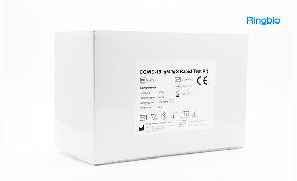 Novel coronavirus antibody, COVID-19 IgM/IgG Test Kit