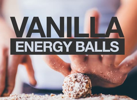 No-Bake Vanilla Energy Balls