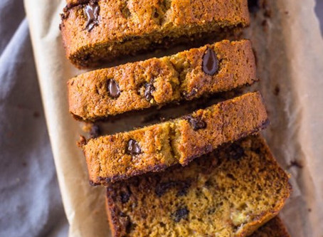 Super Healthy (& Moist) Banana Bread