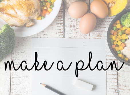 Make a {meal} Plan!