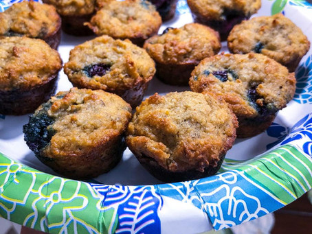 Blueberry Banana Muffin Recipe