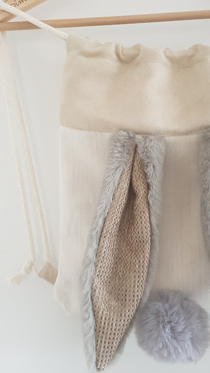 Sac Loother Coquilles d'oeuf -Taille S - Oreilles grises