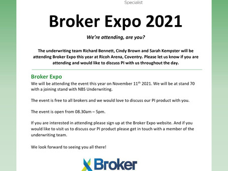 Broker Expo 2021!