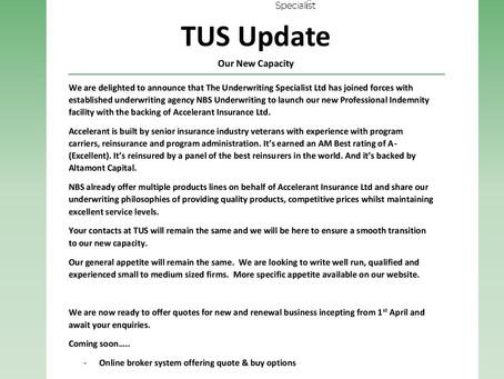 TUS Update