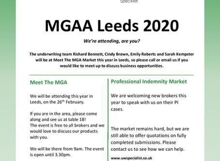 Meet the MGA 2020