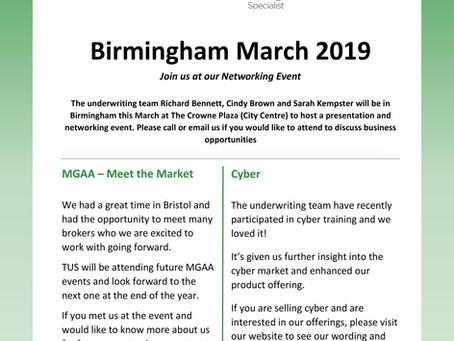 Birmingham March 2019