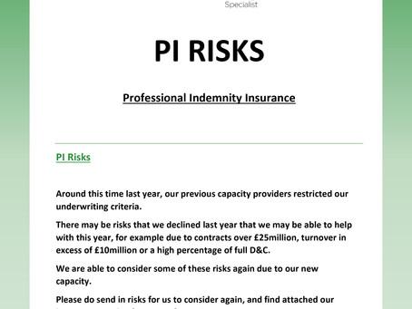 PI Risks
