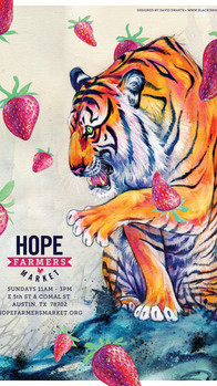 HOPE Artist: Black Ink Art