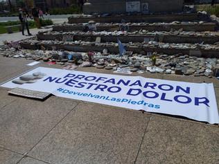 """LEANDRO SANTORO CALIFICÓ COMO """"DEMENCIAL"""" EL ATAQUE AL MEMORIAL POR LAS VÍCTIMAS DEL COVIV 19"""