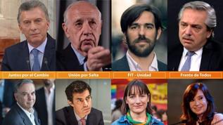 Las listas de candidatos: ¡Aquí están… estos son…!