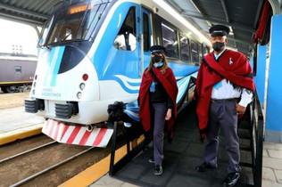 12/07/2021 - Los viajes regulares del Tren Urbano al Valle de Lerma se harán desde hoy