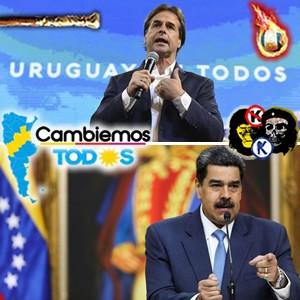 Chicanas. Venezuela y Uruguay La izquierda de la derecha y la derecha de la izquierda.