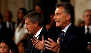 """Macri abrió las sesiones del Congreso con un duro análisis de la herencia """"K"""""""