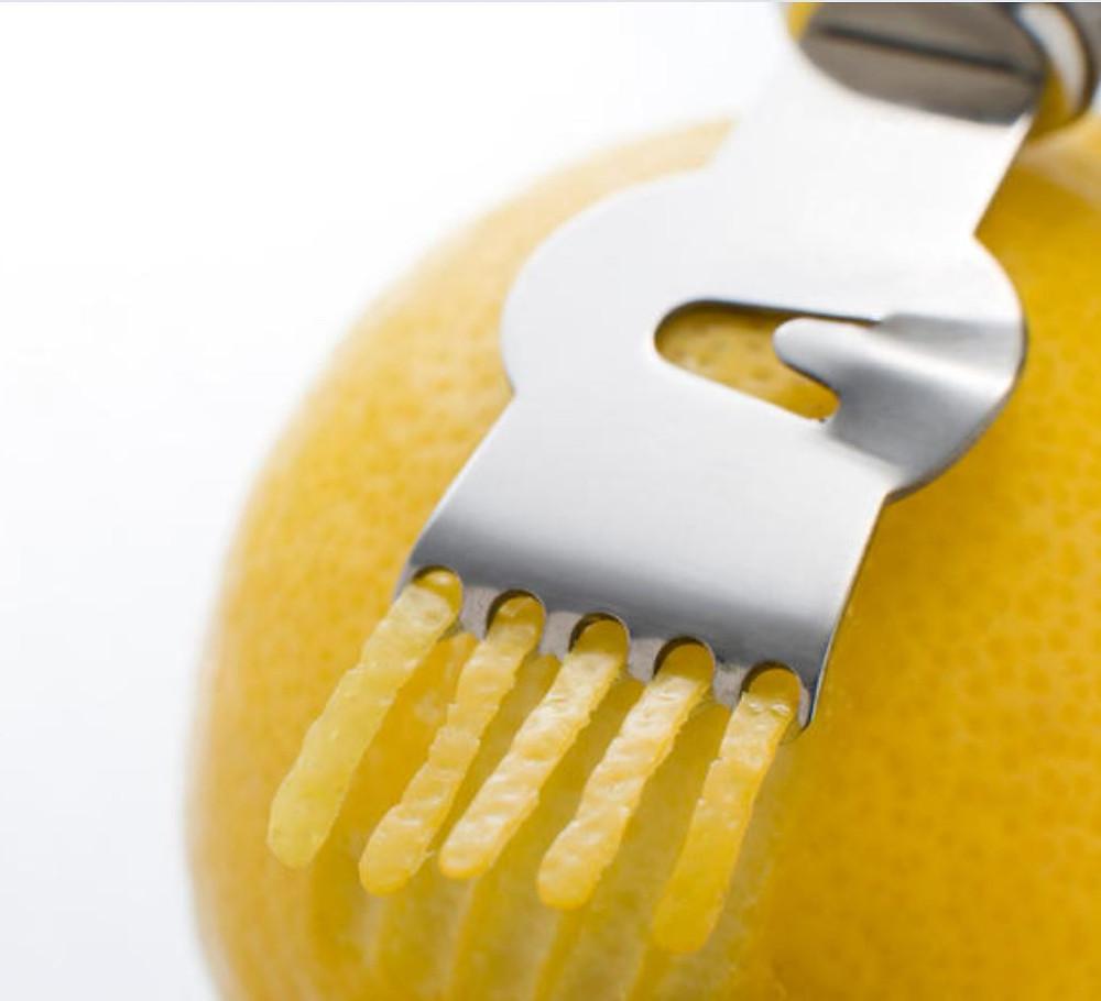 les bienfaits de l'écorce de citron