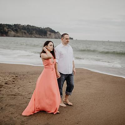 Proposal at Baker Beach