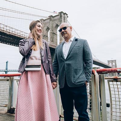 Tony & Olga in NYC