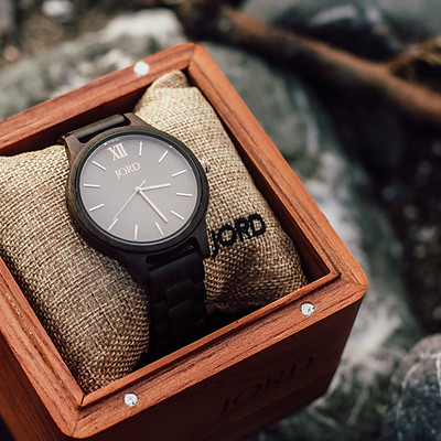 collaboration with JORD watches