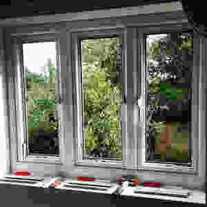 Glazing a upvc double glazed window requires selecting the correct width and size of packers to support the double glazed unit on both panes of glass in the frame. Double Glazing Repairs Weymouth