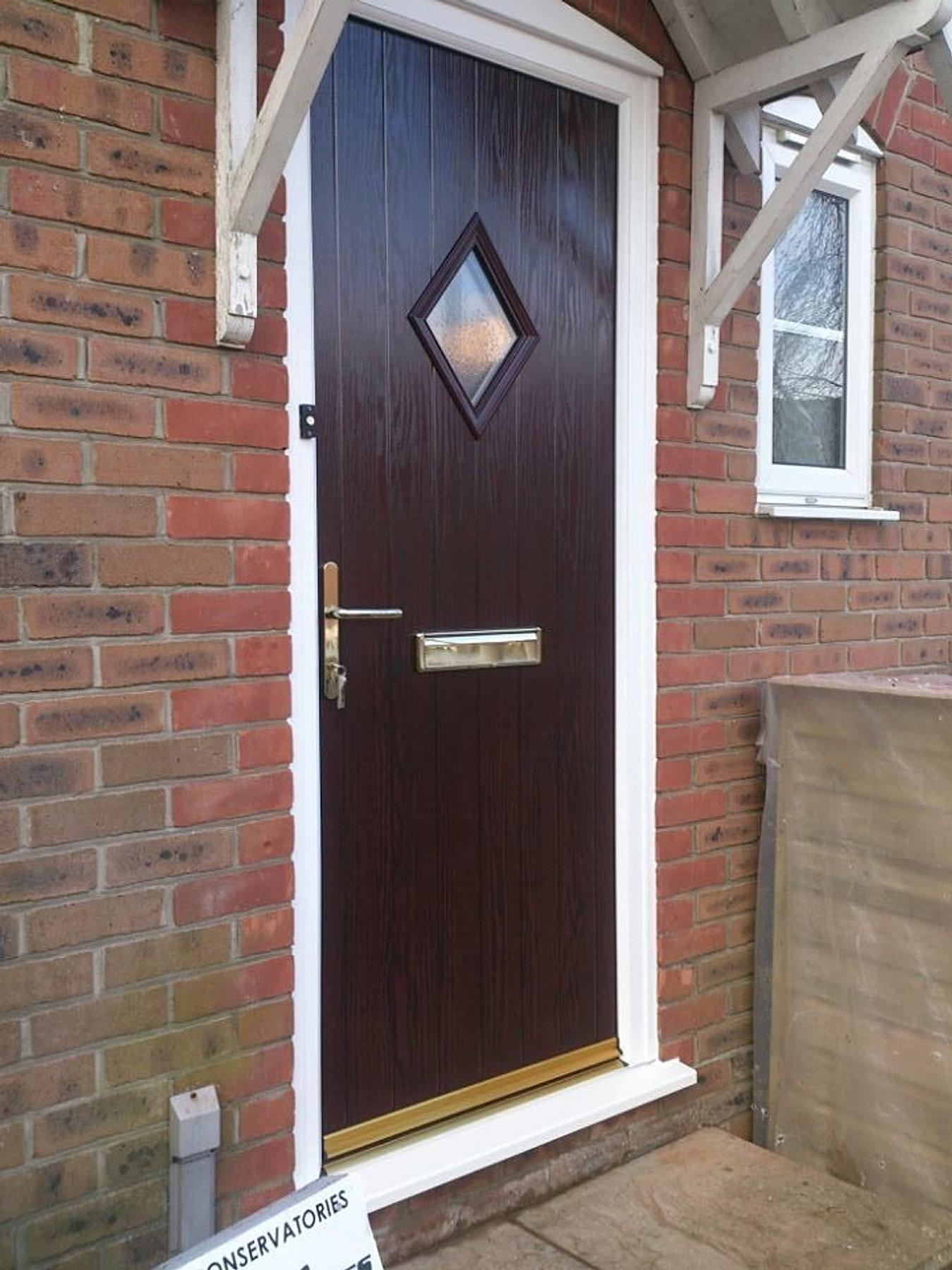 Rosewood Composite Doors Rosewood Door Panels Distinctive Industries Nova Rear Door Composite