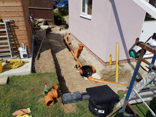 Drainage for plumbing