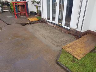 Concrete Just poured