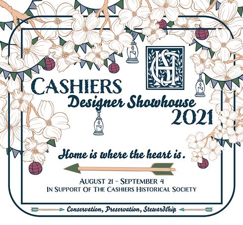 2021 Cashiers Designer Showhouse logo