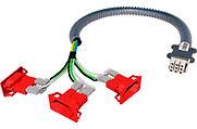 Cabo de extensão eletrica modular Remaster; ilustração daniel beneventi