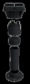 Pedestal regulavel Remaster; ilustração daniel beneventi