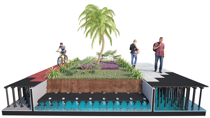 Jardins autoirrigáveis agregam vantagens ambientais e econômicas