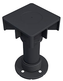 pedestal piso elevado Remaster; ilustração daniel beneventi