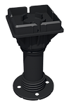 pedestal regulável; piso elevado Remaster; ilustração daniel beneventi