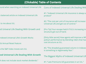 Deep Dive into Indexed Universal Life Policies