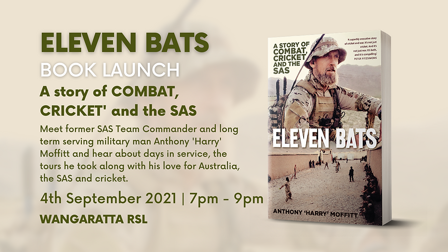 Eleven Bats - Book Launch - Event Page C