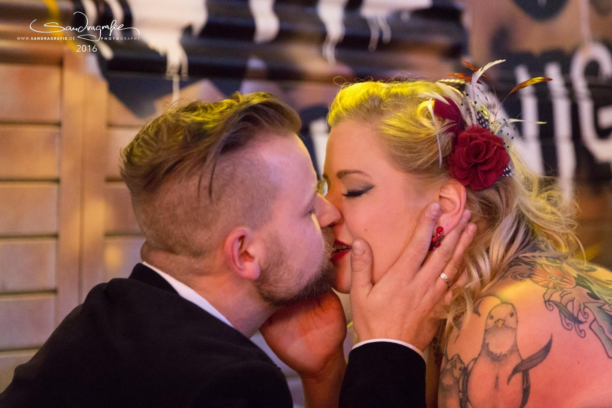 Rockabilly-Hochzeit