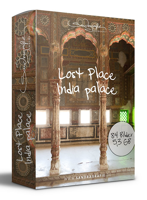Composing-Paket Lost Place India palace