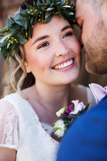 Natürliches Brautstyling Grevenbroich