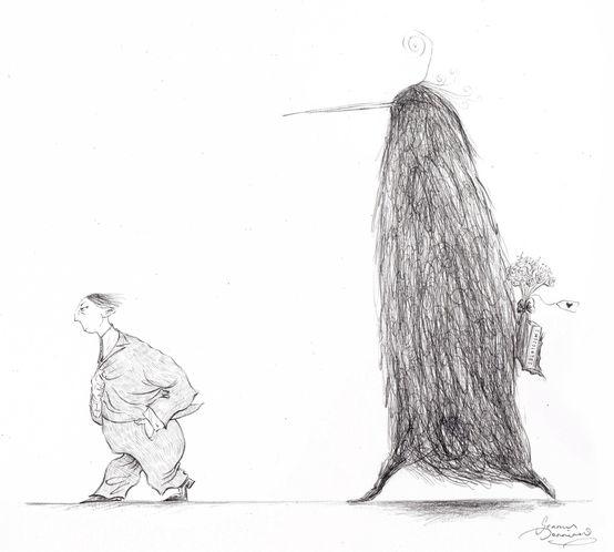 Seamus Jennings cartoon