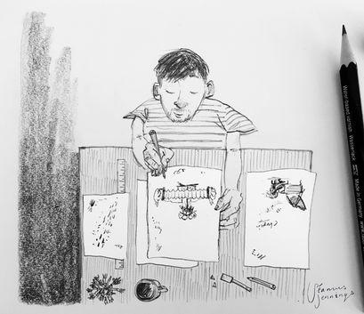 Seamus Jennings Cartoonist Cartoon