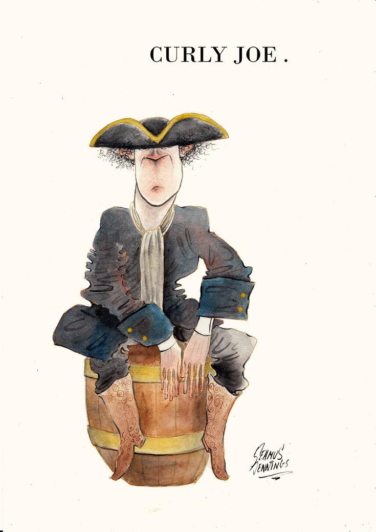Seamus Jennings cartoon illustratio