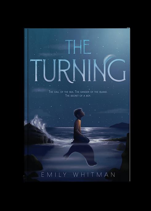 Emily Whitman The Turning Middle Grade Fantasy Novel Selkie Kid Literature Kid Lit Adventure Folklore