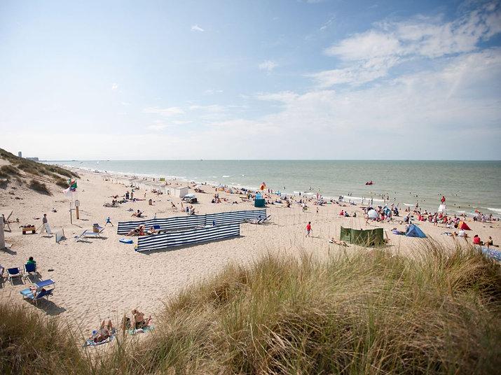 Foto strand Bredene aan zee