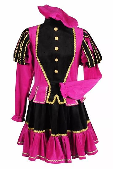 pietenjurkje zwart-roze